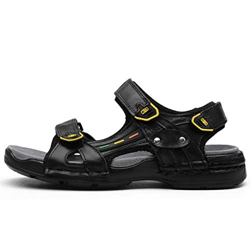 Trail Runner Tech Tee - Men's Summer Shoes KIKOY Casual Breathable Leather Sandals