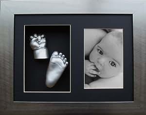 BabyRice - Juego para hacer moldes de pies y manos de bebé