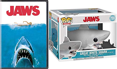 Dive in with Mega Jaws When It's Safe to Go in Water DVD Bundle Steven Spielberg's Jaws & 6