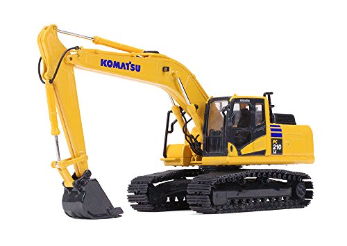 First Gear 1/64 Scale Diecast Collectible Komatsu PC210LC-11 Excavator (#60-0326)