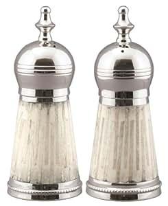Salt & Pepper Shakers w/ Split Bamboo & Resin Sides - Split Bamboo