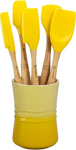 Le Creuset Revolution 6-Piece Silicone Kitchen Set, Soleil