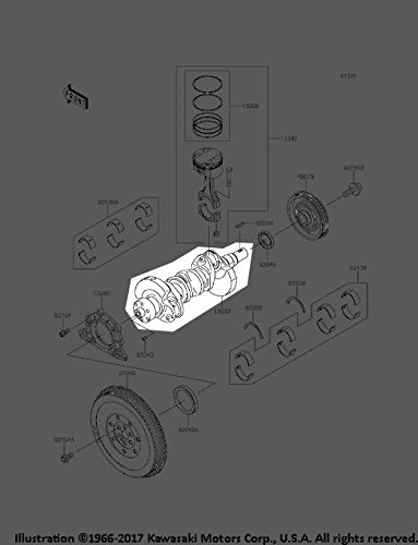 Kawasaki 2015-2018 Mule Pro-Fx Mule Pro-Fxt Eps Le Crankshaft 13037-0854 New - Oem Crankshaft Kawasaki