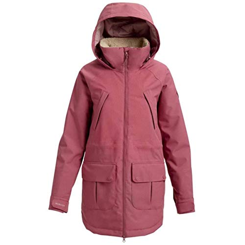 (Burton Women's Prowess Jacket, Rose Brown,)