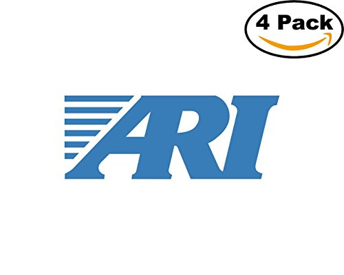 Ari Network Services 4 Stickers 4X4 Inches Car Bumper Window Sticker Decal
