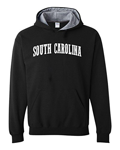 Ugo SC Charleston Map Paladins Gamecocks Home University of South Carolina Contrast Color Unisex - Sc Shopping Charleston