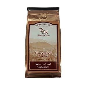 Wine Infused Chocolate Gourmet Ground Coffee by JumpinGoat Coffee Roasters