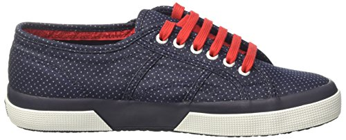 Basso Dots Indigo Italianshirt Blue a Cotm Uomo Collo Superga 2750 Sneaker UzYvPw4n