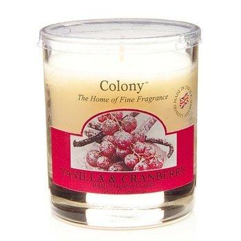 Colony Duftkerze im Glas Vanilla & Cranberry 35h