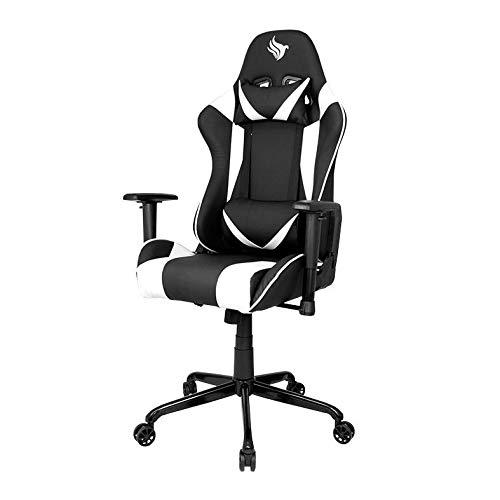 Cadeira Gamer Pichau Gaming Hask Branca com Almofadas