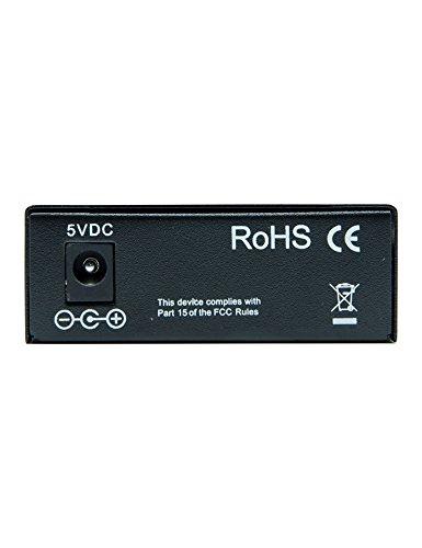 6COM Gigabit Ethernet Media Converter, 10/100/1000Base-TX to 1000Base-FX SFP Slot, without Transceiver by 6COM (Image #2)'