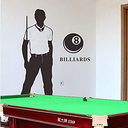 haotong11 Billar Snooker Calcomanía Calcomanías de Pared para ...