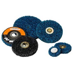 Coarse Standard Abrasives 840497 40 Units 3 TS Silicon Carbide Quick-Change Cleaning Pro Disc