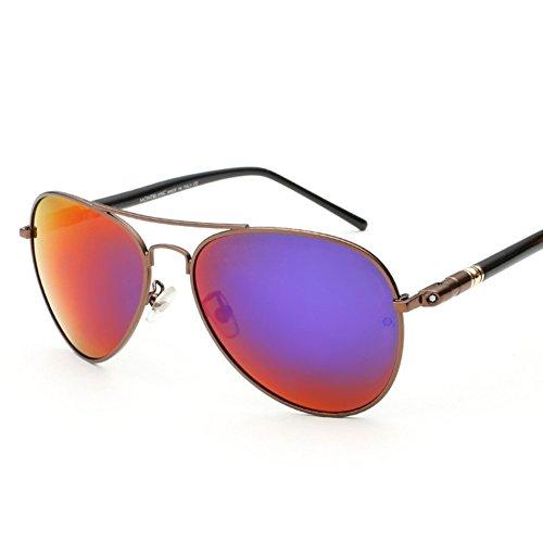 CUSHAPE ASG800024C5 Fashionable TAC Lens Dazzling Color Metal Frames - Prescriptions Order Mail Glasses