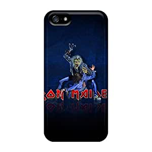 Protective Cell-phone Hard Covers For Apple Iphone 5/5s (adF17CbgL) Customized High-definition Iron Maiden Series
