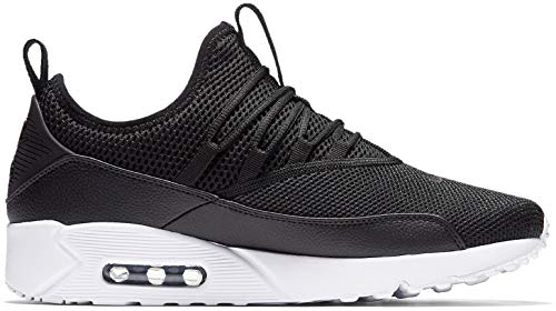 Nike Mens Air Max 90 EZ Running Shoes Black/White AO1745-001 Size ()