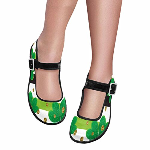 Mary Casual InterestPrint Flats Jane Womens Shoes 8 Multi Walking Comfort rEqwCXIq