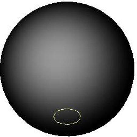 M8x1.25 Brass thds. Black Phenolic Plastic Ball Knob 25mm dia. Metric 1 Each