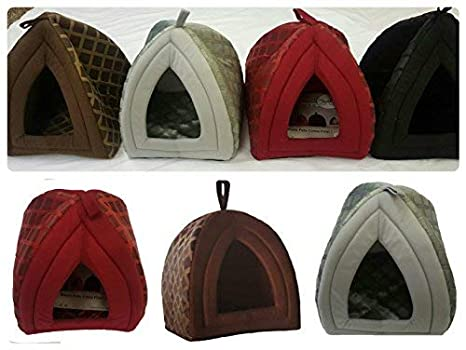 Cueva con forma de iglú para mascotas: Amazon.es: Productos para mascotas