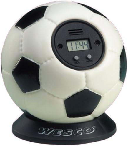 WESCO Xtra Time - Reloj con Alarma en Forma de balón de fútbol ...