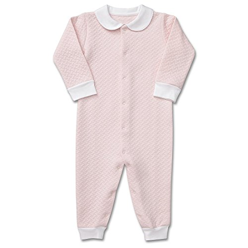 Luxury Layette - Fore Kids Apparel Baby Girls Quilted Layette wo/Feet Pink 12-18M