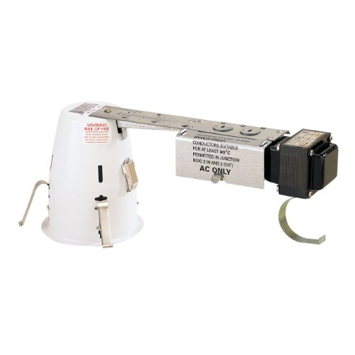 4 in. - Miniature Low Voltage 50W Remodel Housing with Quick Connect - 12 Volt- PLT - Miniature Low Lights Recessed Voltage