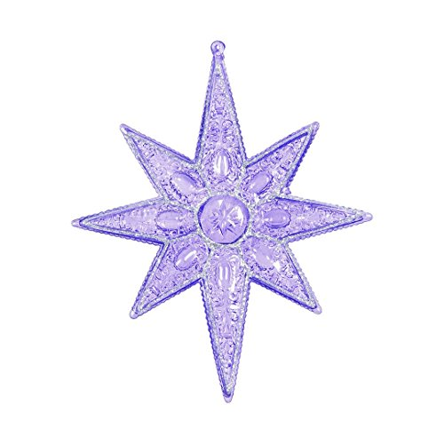 8 Point Star Ornament - 1