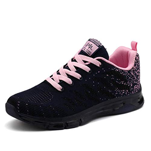 Women Sneakers Breathable Air Mesh Casual Shoes Woman Slip On Flats Loafers Ladies Running Shoes Creepers Tenis Black -