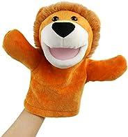 SpecialYou Dinosaur Hand Puppet Interactive Preschool Toy Birthday for Toddler Kids