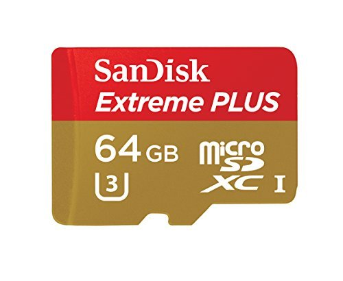 SanDisk Extreme PLUS microSDHC UHS-I/U3 Card with Adapter