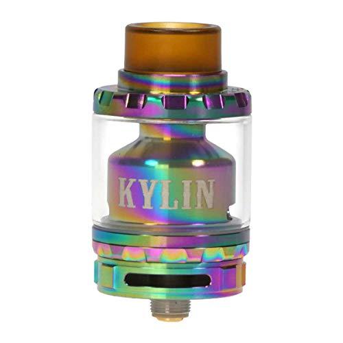 VandyVape Kylin RTA Clearomizer 2 ml / 6 ml, Durchmesser 24 mm, Verdampfer für e-Zigarette, rainbow