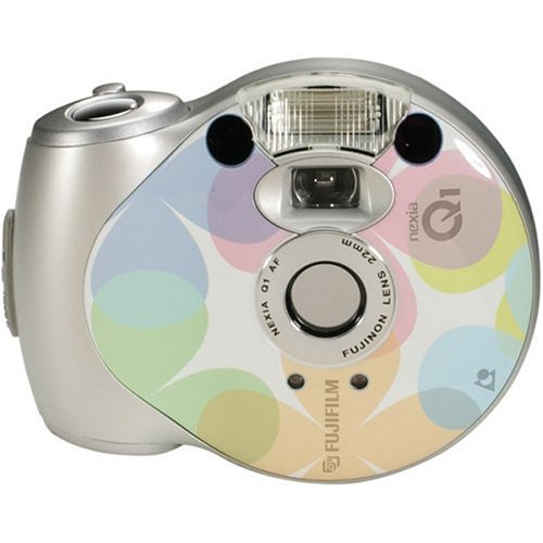Fujifilm Q1 24mm APS Point-and-Shoot Camera (Silver Petal)