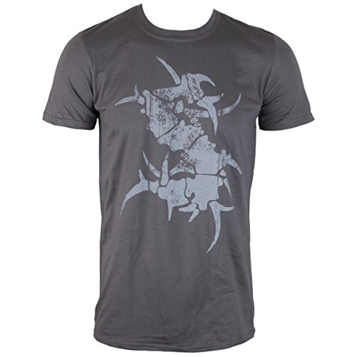 Herren T-Shirt Sepultura - S Grey - NUCLEAR BLAST - 248732