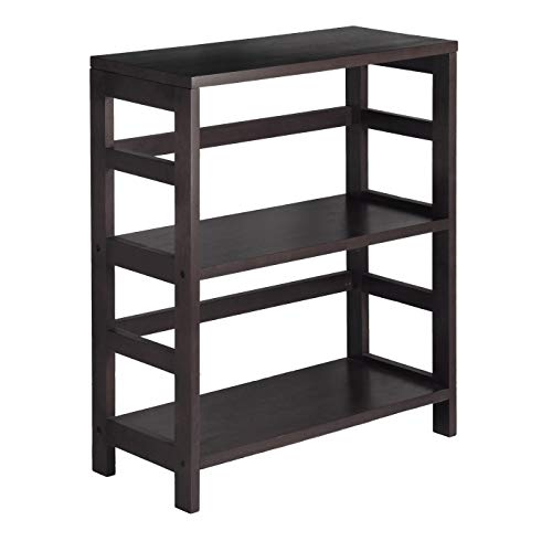 (Winsome Wood 92326 Leo Model Name Shelving, Small and Large, Espresso )