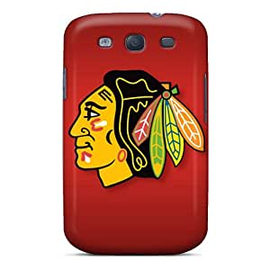 Galaxy Scratch-proof Protection Chicago Blackhawks Cases Cover Of Galaxy S3