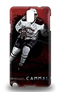 Premium Protection NHL Montreal Canadiens Michael Cammalleri #13 3D PC Case Cover For Galaxy Note 3 Retail Packaging ( Custom Picture iPhone 6, iPhone 6 PLUS, iPhone 5, iPhone 5S, iPhone 5C, iPhone 4, iPhone 4S,Galaxy S6,Galaxy S5,Galaxy S4,Galaxy S3,Note 3,iPad Mini-Mini 2,iPad Air )