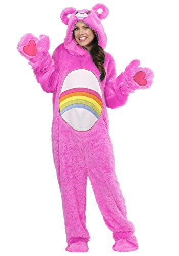 Care Bears Costumes For Adults (Care Bears Adult Classic Cheer Bear Costume Medium)