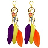 Kate Marie Fashion Earrings Parrot Design