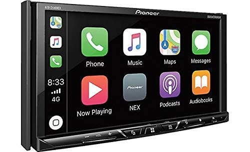Pioneer AVH-2400NEX 7″ Touchscreen Double Din Android Auto and Apple CarPlay In-Dash DVD/CD Bluetooth  Car Stereo Receiver (Renewed)
