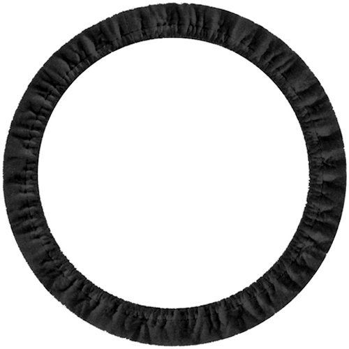 Custom Accessories 31100 Black Stretch-On Steering Wheel Cover