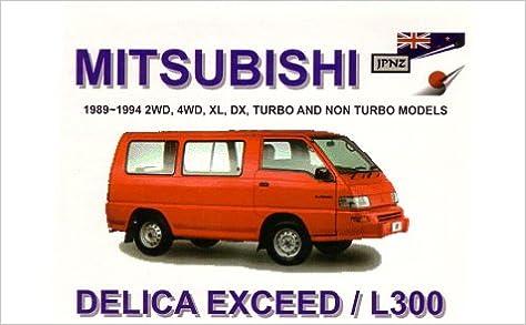 owner manual for mitsubishi l300