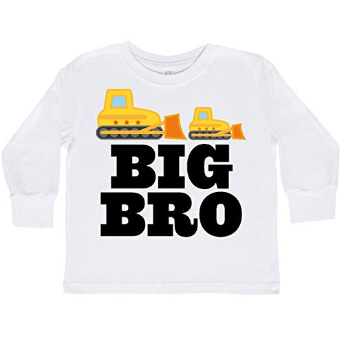 Bro T-shirt White (inktastic - Big Bro Boys Brother Toddler Long Sleeve T-Shirt 2T White 2a092)