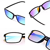 STBJ Double Coating Color Blind Glasses for Men and