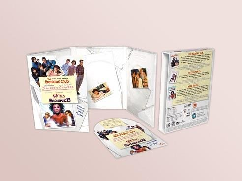 John Hughes Movie Collection Box set - Breakfast Club / Weird Science / Sixteen - Yearbook Collection