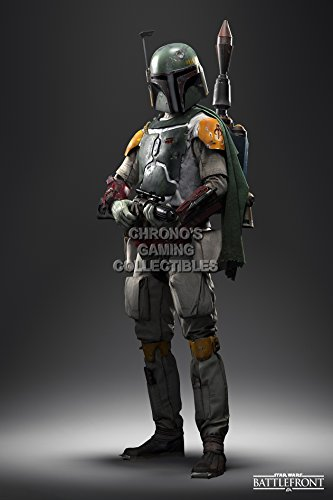 CGC Huge Poster - Star Wars Battlefront Boba Fett - PS4 XBOX ONE - SWB001 (24