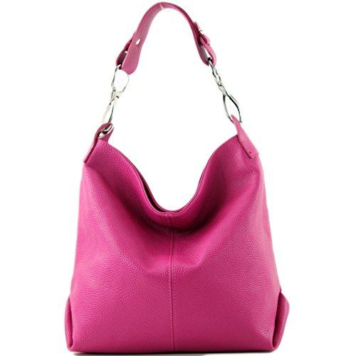 Farbe T168 Tracolla Pelle A nur Mano Borsa Präzise Farbe pink In 4zqpOxwa
