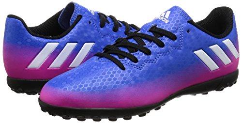 adidas MESSI 16.4 TF J - Botas de fútbol Línea Messi para niños, Azul - (AZUL/FTWBLA/NARSOL), -33