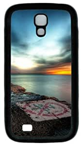 Cool Painting Samsung Galaxy I9500 Case, Samsung Galaxy I9500 Cases -Hdr Sunset PC Rubber Soft Case Back Cover for Samsung Galaxy S4/I9500