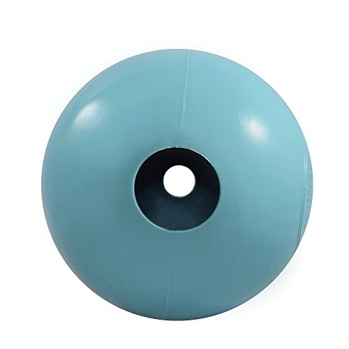 Rocco & Roxie Dog Toys Balls - Tough Nearly Indestructible Toy for All But the Most Aggressive Chewers - Balls for Large and Small Dogs - Made in USA (Powder Blue 4 inch ball) by Rocco & Roxie Supply Co (Image #2)