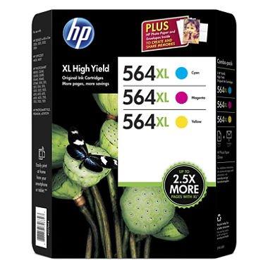 hp-564xl-high-yield-original-ink-cartridge-photo-paper-cyan-magenta-yellow-3-pk-750-page-yield